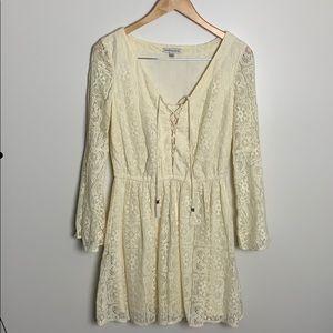 American Eagle Outfitters Festival Lace Dress Boho